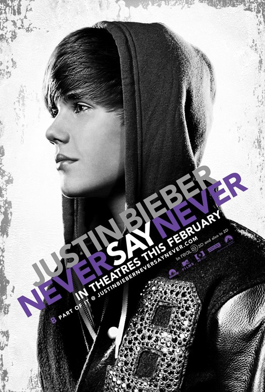 justin bieber never say never movie poster. girlfriend film never justin